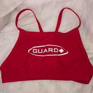Other - Lifeguard Swimsuit Top